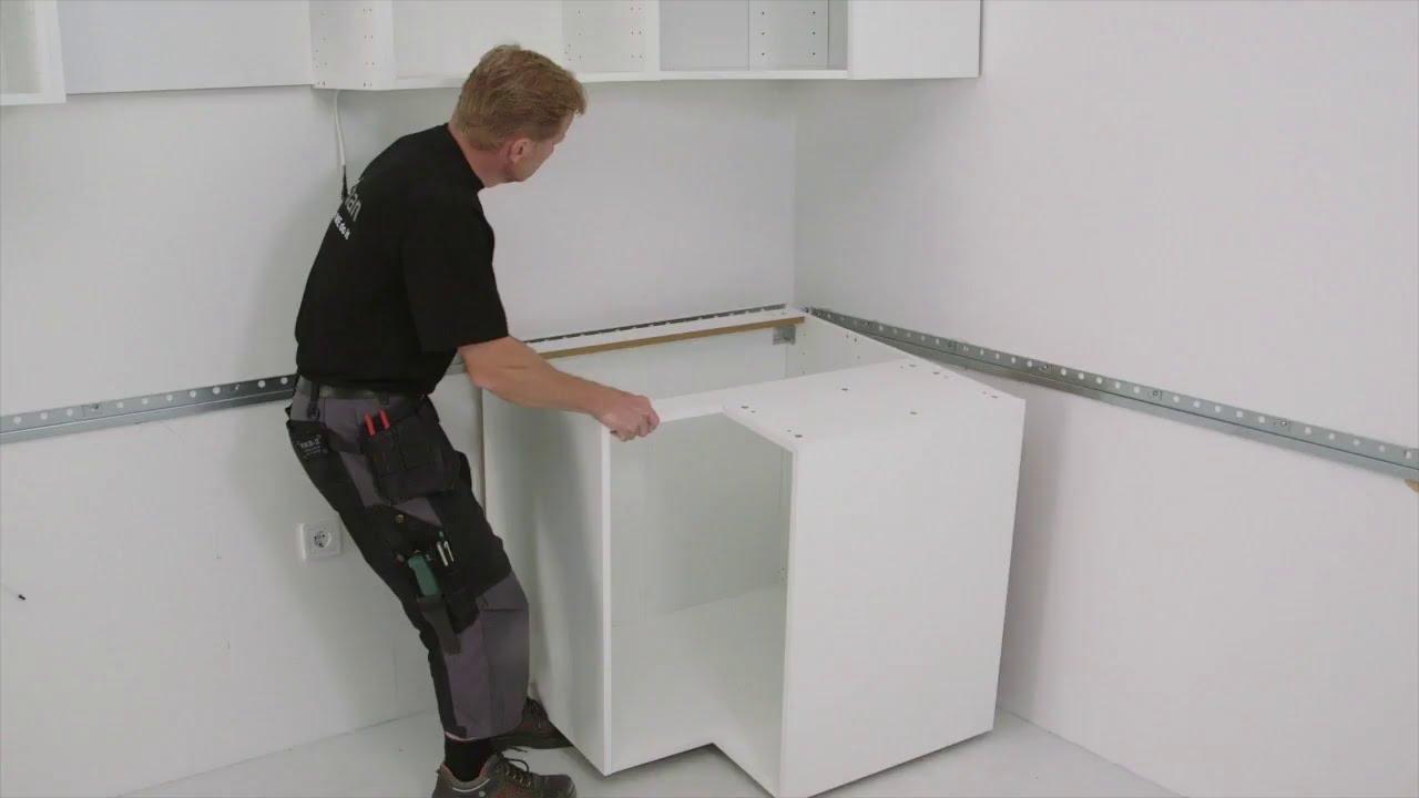 IKEA METOD Kitchen Installation 3/7 - Installing the cabinets | IKEA Australia