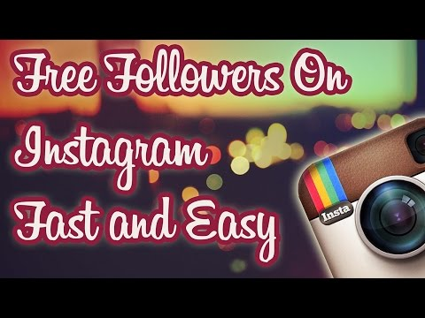 Get Free Followers on Instagram Fast and Easy