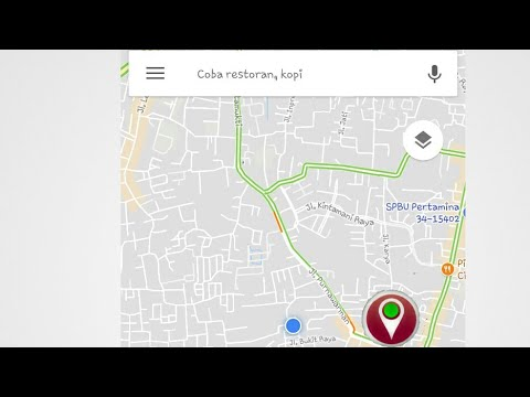 cara mudah mencari titik koordinat di google maps android