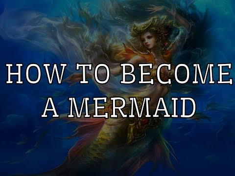 HOW TO REALLY BECOME A MERMAID (SPELL+POTION)