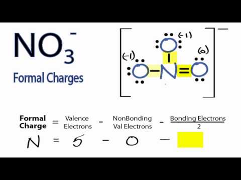 Calculating NO3- Formal Charges: Calculating Formal Charges for NO3-