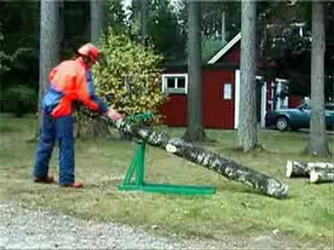 Smart-Holder Firewood Holder / Sawhorse