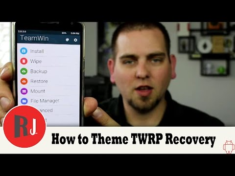 How to Install Lollipop Theme on TWRP Recovery