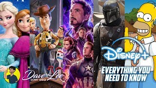 DISNEY+ STREAMING - Everything You Need To Know - Exclusives, Price, Launch Date Explained