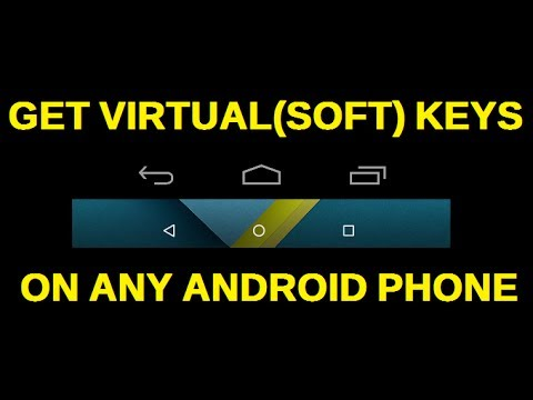 Get virtual(Soft) keys on any Android Smart phone