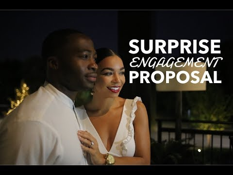 Best Surprise Proposal Engagement Ever | Video Will Make You Cry! Courtney and Nate's Proposal
