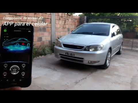 cardot spanish gsm gps car alarm working introduction by installer 2019 year new item