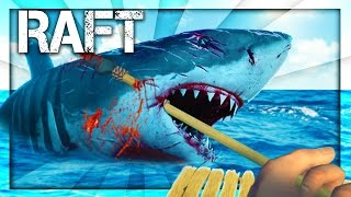 DEATHMATCH WITH THE SHARK! (Raft)
