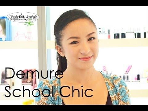 Natural Korean Makeup for School