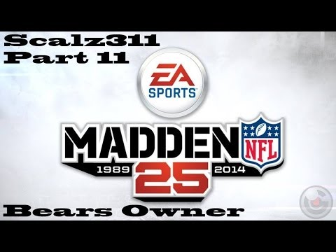 Let's Play Madden 25 Chicago Bears Owner Career Part 11 - St. Louis Rams