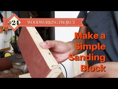Make a Simple Sanding Block