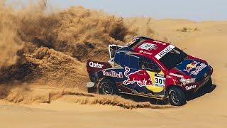 2 Time Dakar Winner Ripping Through Sand Dunes | Dakar 2017