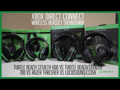 Xbox One Direct Connect Wireless Headset Showdown - Turtle