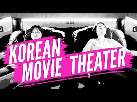 Korean movie theaters are awesome