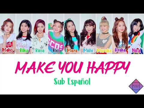 NiziU ~ Make You Happy (SUB ESPAÑOL)
