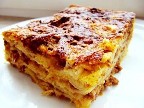 How to make the original Lasagna: Italian original video recipe