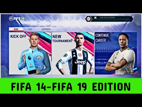 Fifa 14 -Fifa 18 Edition ( Kits, Faces, Squad and More...) HD