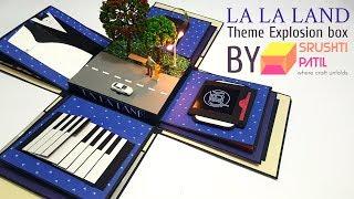 La La Land Theme Explosion Box by Srushti Patil