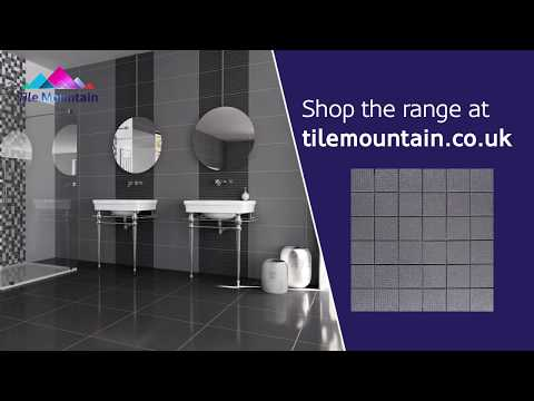 Quick Look: Trinity Lux Grey Mosaic (443575) - Tile Mountain