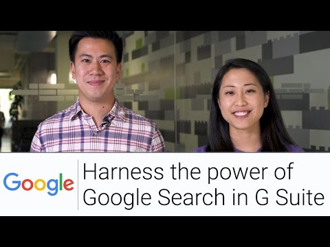 Cloud Search for G Suite | The G Suite Show