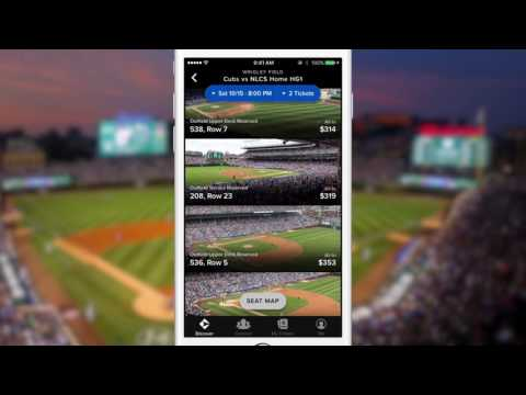 Chicago Cubs Playoff Tickets on Gametime