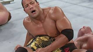 "Dwayne ""The Rock"" Johnson wins the Undisputed Championship"