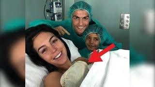 #x202b;رونالدو يرزق بطفله الرابع..!! 😍😍#x202c;lrm;