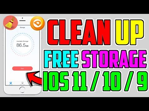 Get This App Before It's BANNED! Clean Up Storage FREE (NO Jailbreak NO Computer) iPhone,iPad,iPod