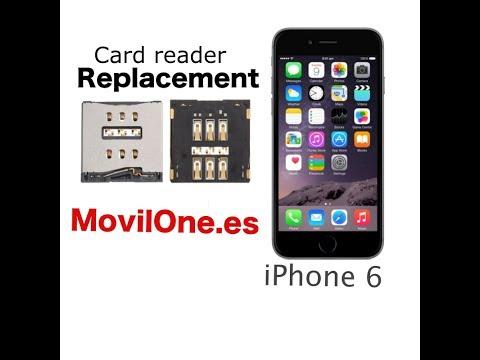 SIM card reader replacement iPhone 6