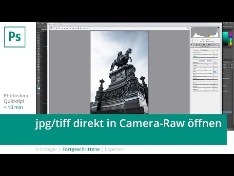 Photoshop-Quicktip: jpg/tiff direkt in Camera-Raw öffnen