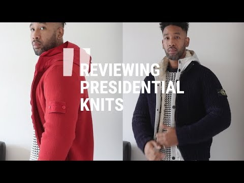 STONE ISLAND PRESIDENTIAL KNIT (AW15)  & GHOST KNIT (AW13) QUICK REVIEW