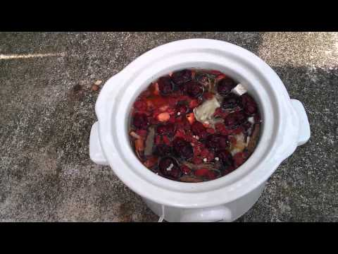 Chinese Herbal Soup - A Tonic for General Good Health - Uses 10 of the most important Herbs