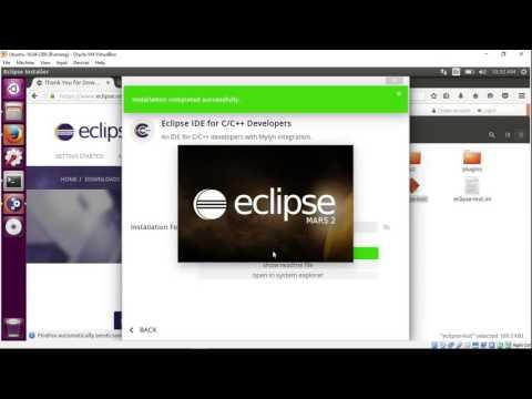 Install Eclipse IDE for C/C++ Developers on Ubuntu 16.04 i386 (32-bit)