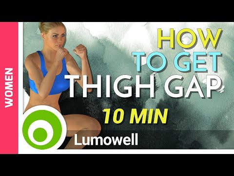 How to Get a Thigh Gap Fast