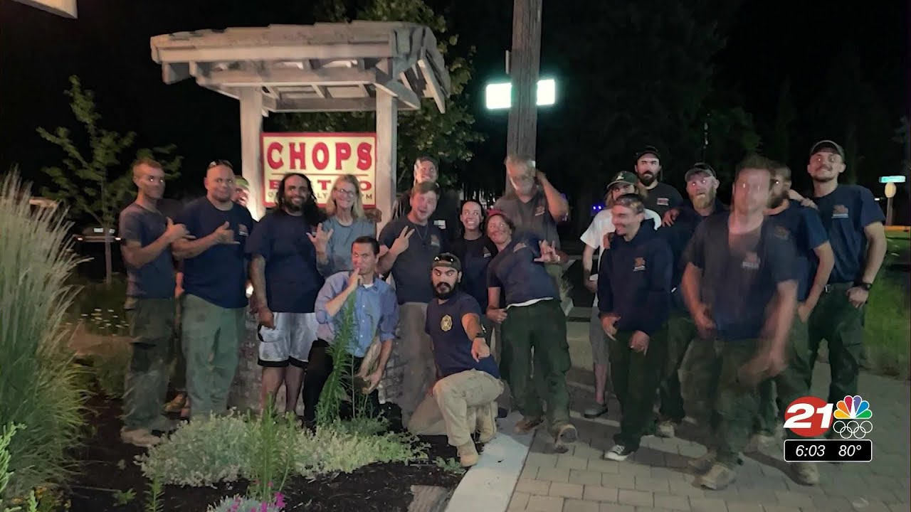 McDonalds in Sisters turns away firefighting team; local restaurant steps in to help