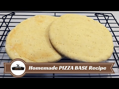 Pizza Base Recipe in Hindi | Basic Pizza Dough | How to make Quick & Easy Homemade Pizza Dough