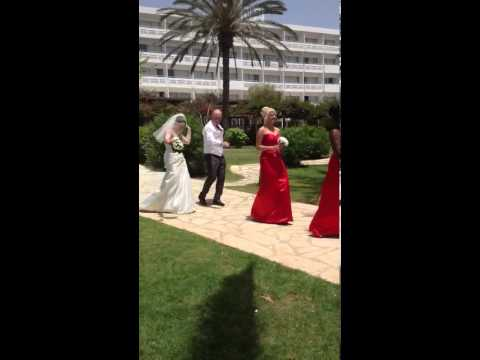 Nissi Beach Wedding Dance - Lydia & Michael