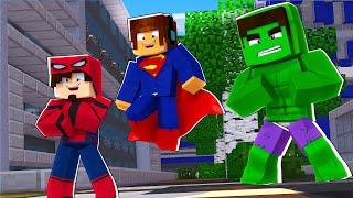 Download Minecraft : VIRAMOS SUPER HERÓIS COM SUPER PODERES !! - Minecraft Super Heróis #1 Video