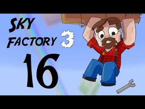 FTB 1.10 SkyFactory 3 Episode 16: Do You Wanna Build a Tree Farm?