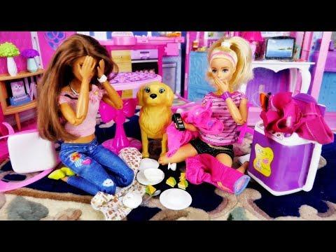 Pechowy wypadek Barbie! - Zalany telefon i najgorszy dzień Bajka po polsku z lalkami Barbie odc20 4k