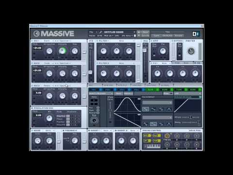 Massive tutorial - Doctor P Wobble Bass/Synth