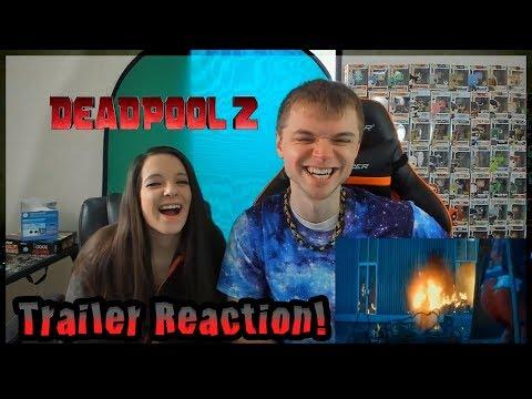 Final Trailer Reaction - Deadpool 2 w/ @Poijz & Leann!