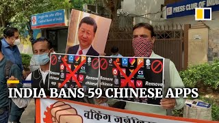 India bans dozens of Chinese apps, including TikTok and WeChat, after deadly border clash