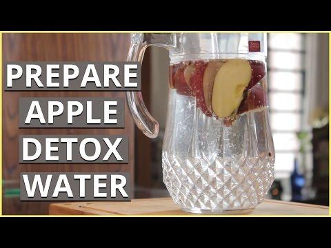 HOW TO PREPARE APPLE DETOX WATER
