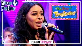 Keisha White Performs Someday (Tracy Beaker Theme Song) Live on Blue Peter!