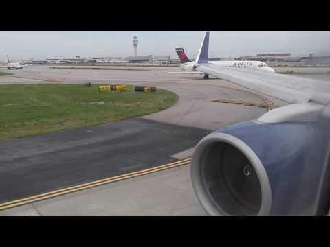 Delta 757-200H Takeoff from Atlanta ATL