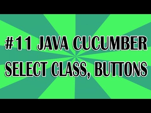 JUnit Cucumber Tutorial 11 - Drop Downs, Checkboxes and Radios Buttons