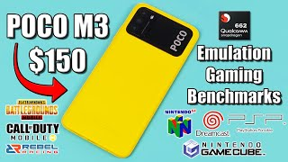 POCO M3 A Budget Power House? Emulation, Gaming, Benchmarks