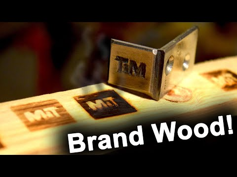 DIY Makers Mark Branding Iron by Maker in Training
