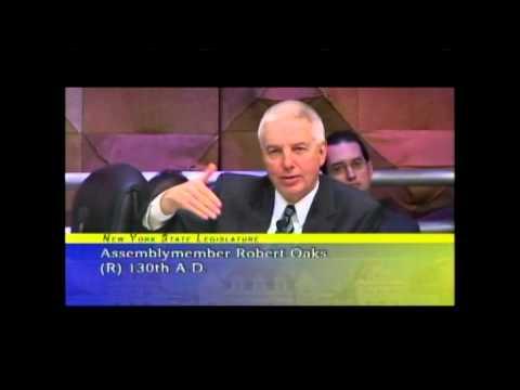 NYS Assemblyman Bob Oaks Discusses NY SAFE Act.